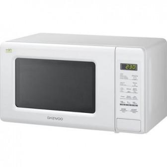Cuptor cu microunde Daewoo KOR-6S2BW, 20 litri, 800 W, Digital, Alb