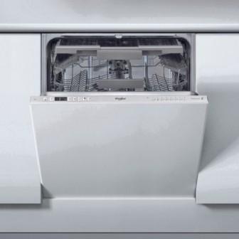 Masina de spalat vase incorporabila Whirlpool WIC 3C23 PEF, 8 programe, 14 seturi, Clasa A++, 60 cm