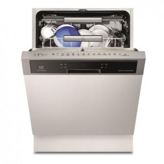 Masina de spalat vase partial incorporabila Electrolux ESI8730RAX, 15 seturi, 6 programe, Motor Inverter, 60 cm, Clasa A+++, Inox