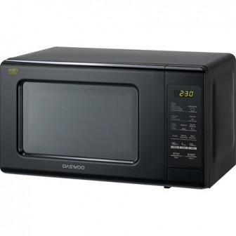 Cuptor cu microunde Daewoo KOR-6S2BK, 20 litri, 800 W, Digital, Negru